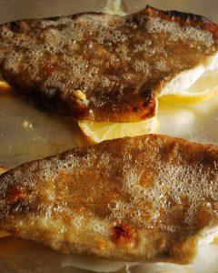grillowane filety ze złocicy