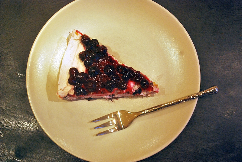 Cheesecake portion