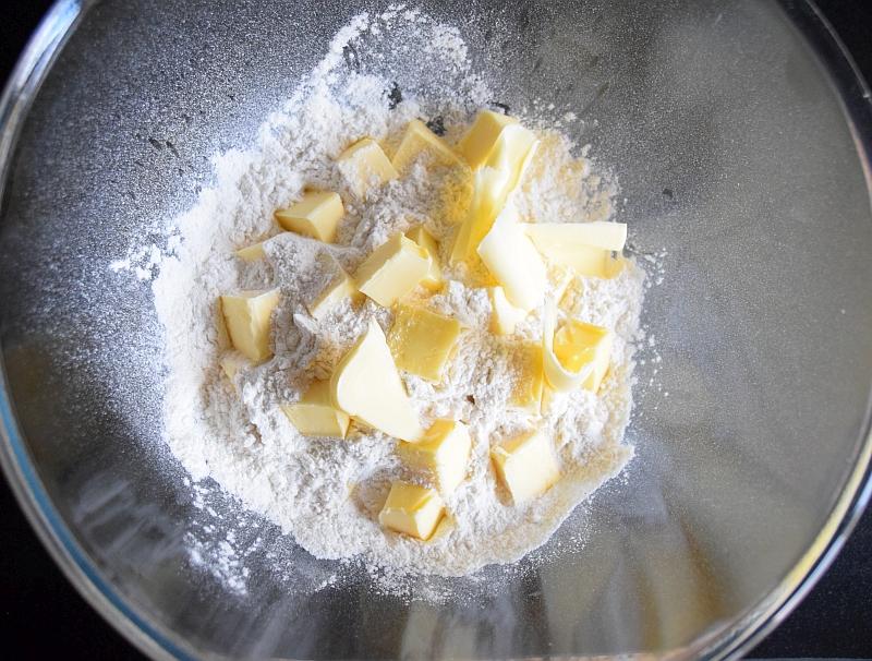 mąka i masło