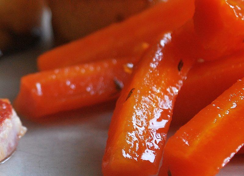 honey glazed carrots