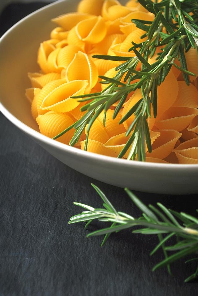 Uncooked pasta
