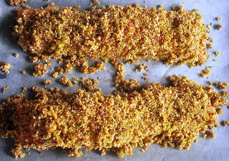 filety z łososia w panierce