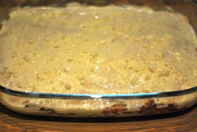 Surowa lasagne