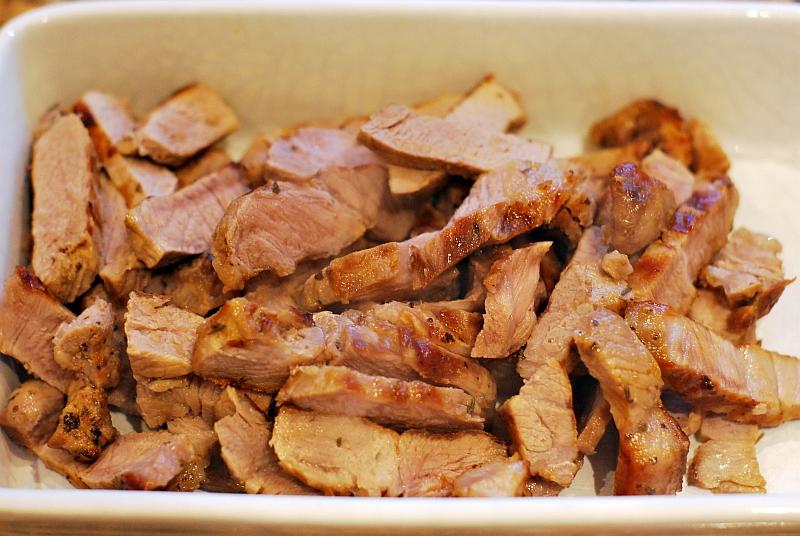 sliced pork shoulder